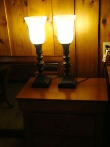 Two new table lamps