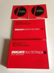 DUCATI MULTISTRADA 620  OWNERS MANUAL