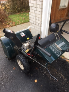 """Snowblower  10 HP  29""""  Two stage"""