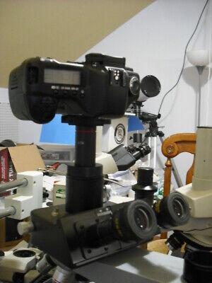 Canon Eos Camera 2 Nikon Microscope Adapter 0.5x Lens Wild Leitz Leica Iso38mm