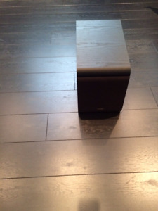 Subwoofer Omage with cables - mint condition