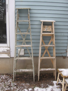 2 different ladders