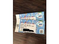 2 x Capital Summertime Ball 2017 Tickets Seated