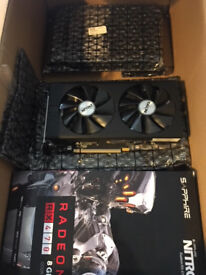 brand new unused sapphire RX470 8gb crypto currency mining cards
