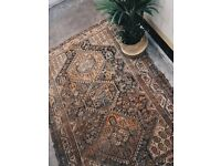 BENAZIR - Antique Traditional Vintage Persian Wool 207 x 150CM Handmade Carpet Rugs