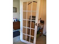 White wooden internal doors