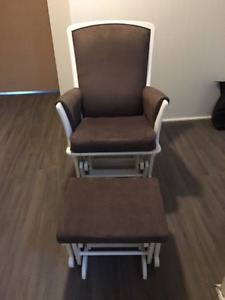 Nursery Glider Chair and Ottoman ***$150.00 obo***