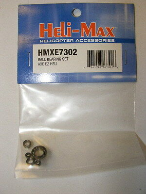 HELI-MAX # HMXE7302 BALL BEARING SET : AXE EZ HELICOPTER