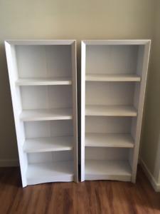 Like New White Shelves (2)