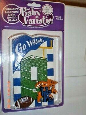 NEW College Football NCAA Kentucky Wildcats Light Switch Plate Cover Decor RESIN Kentucky Wildcats Ncaa Light