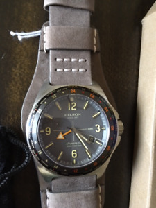 New with tags Filson Shinola men's watch.