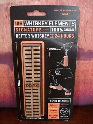 Time and Oak Whiskey Elements Signature Flavor NIP - Better Whiskey 24