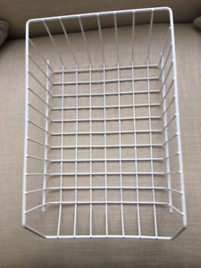 Whitmor Wire Stacking Baskets - qty 6