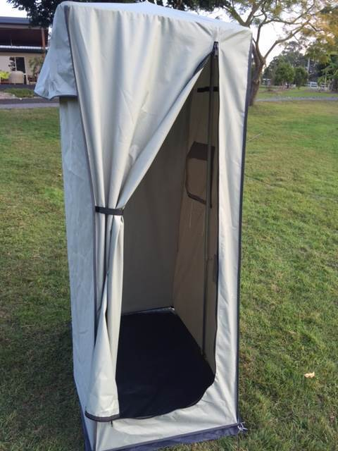 Free Standing Combined Shower Toilet Tent With Carry Bag