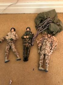 Action Man including Men & Vehicles