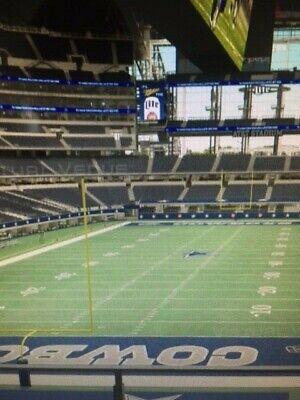 2 Dallas Cowboys Season tickets with PSL Lower Level 2020 season already paid!