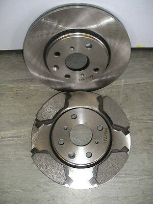 CITROEN C1 FRONT VENTED BRAKE DISCS AND PADS   FITS ALL MODELS 2005 ONWARDS