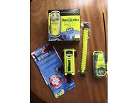 ResQLink smallest Buoyant Personal Locator Beacon Complete packaging complete