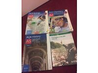 A-level Biology/Chemistry/History books
