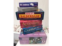 Six Board Games for sale in excellent condition