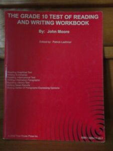 The grade 10 test of reading and writing workbook London Ontario image 1