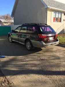 2000 Subaru Outback grey SUV, Crossover