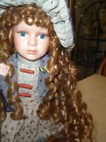 JUST REDUCED THE PRICE - HANDCRAFTED PORCELAIN DOLL - $59.99