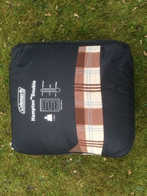 Coleman Hampton Doulble Sleeping Bag In New Condition Used Once