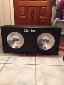 Clarion Speaker System and Amp