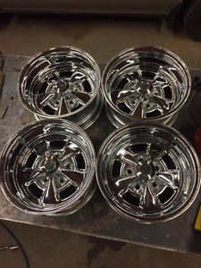 "14"" x 7"" Chevy 5 hole Appliance Chrome Wheels"