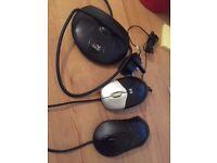 USB mice*2, digital aerial, nokia charger plug