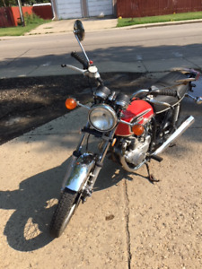 1974 Honda CB360T - last reduction before winter