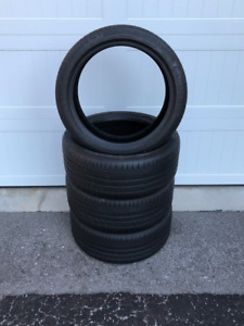 4 NEW Continental ContiSportContact5 Summer Tires 225/40R18