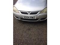 £100: Vauxhall Corsa Design 1.2L (2004). Sell for parts/scrap. Still drives, but head casket blown.