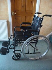 Enigma Self Propelled Folding Wheelchair in VGC