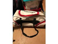 Boys Cricket bag, Spiked shoes , cricket pads