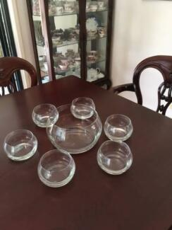 Krosno Bowl and 6 Mini Bowls