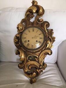 Antique Swedish (Exacta) Clock Mosman Mosman Area Preview