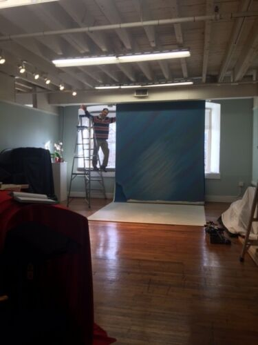 Studio Motorized Background Lift System Backdrop 8.5