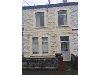 Lovely Double Room available in 4 bed house in Splott, Cardiff.