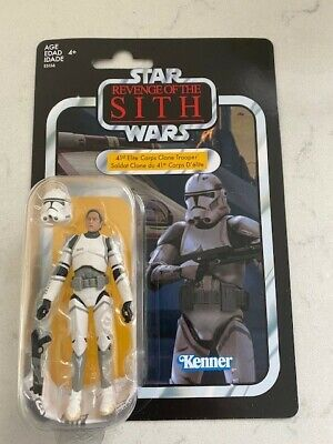 Star Wars Vintage Collection VC145 - 41st Elite Corps Clone Trooper Figure