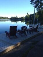 Rent 1 or all 3 Cottages on Lyndhurst Lake-Ideal Family Reunion