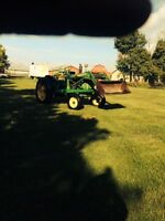 John Deere 3010 Diesel Tractor with Loader for sale