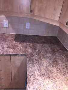 Excellent Condition Kitchen Cabinets &  Countertop