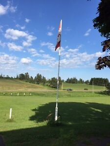 Steel flagpole for sale..... free!!