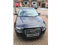 AUDI A3 black hatchback 3dr 1.4 turbo