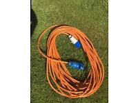 25m electric hook-up lead