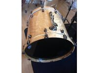 For sale Mapex Saturn V Exotic 22 Sub Wave Twin Shell Pack Natural Maple