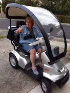 """Scooter """"breeze"""" electric mobility wheelchair Glenorchy Glenorchy Area Preview"""