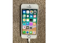 iPhone 5s, Silver, 16GB, Excellent condition, updated with 11.04 IOS, Sim Free unlocked